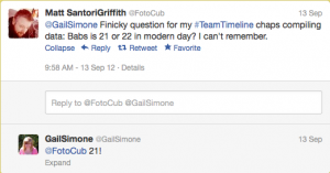 Gail Simone tweet