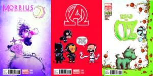 New Avengers #1, Morbius #1, Road to Oz #4