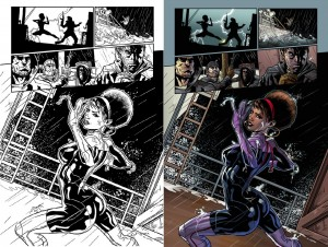 Fearless Defenders Page 3 Comparison