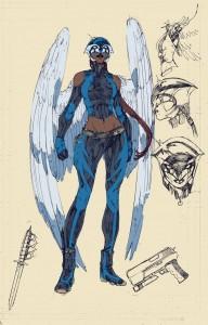 HawkgirlDesignBooth
