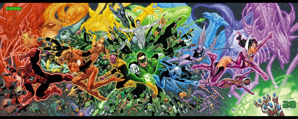 Green-Lantern-20-Gatefold-fold-out-spread-by-Ethan-Van-Sciver-for-End-of-Geoff-Johns-run