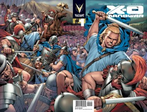 Valiant - cover master X-0 2nd print v3 with sword v1