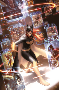 Batgirl cover art by Alex Garner