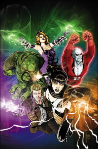 Justice League Dark cover art by Mikel Janin