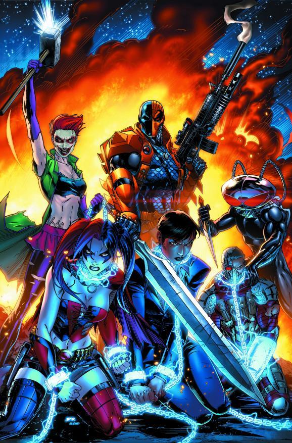 DC Comics Announces SUICIDE SQUAD Relaunch