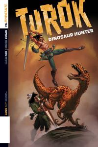 Turok Dinosaur Hunter cover art by Bart Sears