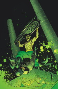Batman and Ra's al Ghul cover art by Patrick Gleason