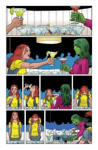 She-Hulk interior art by Javier Pulido