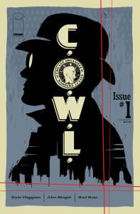 C.O.W.L. cover art by Trevor McCarthy