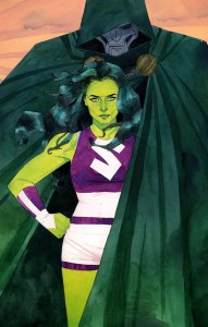 She-Hulk cover art by Kevin P. Wada