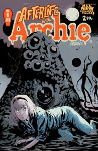 Afterlife with Archie cover art by Francesco Francavilla
