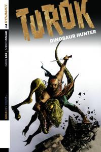 Turok Dinosaur Hunter cover art by Mirko Colak