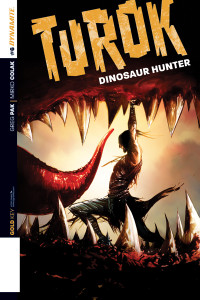 Turok Dinosaur Hunter cover art by Jae Lee
