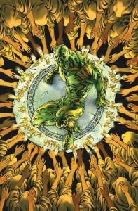 Swamp Thing cover art by Jesus Saiz
