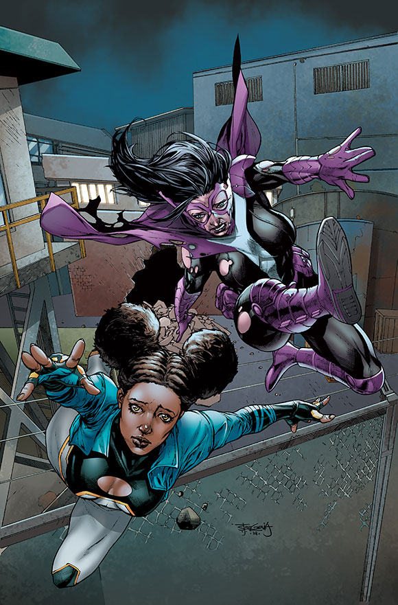Cover to Futures End: Worlds' Finest #1