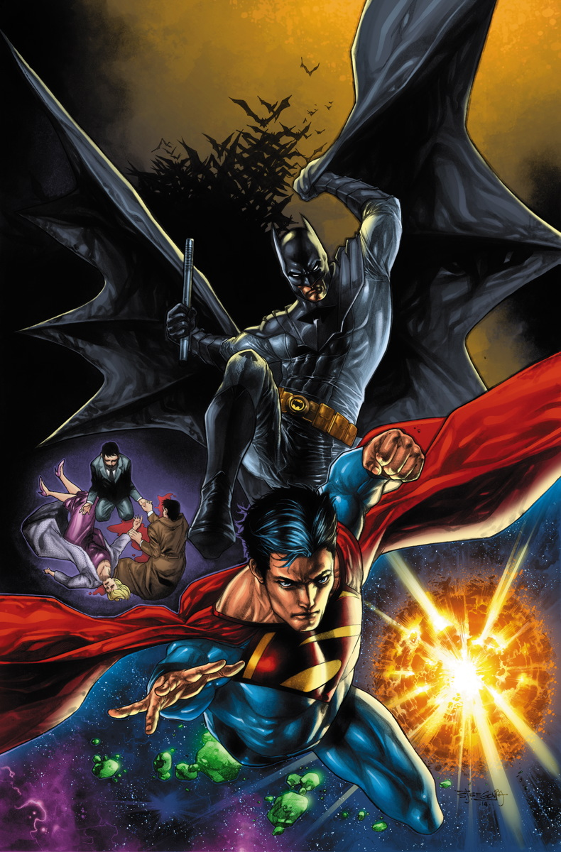 Cover to Worlds' Finest #27