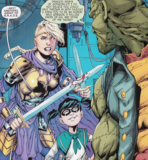 Amethyst, Father Time, and Frankenstein —Agents of S.H.A.D.E.