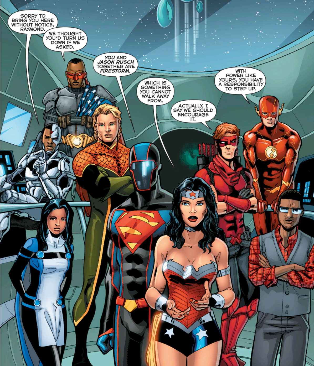 The Justice League —Five Years Later