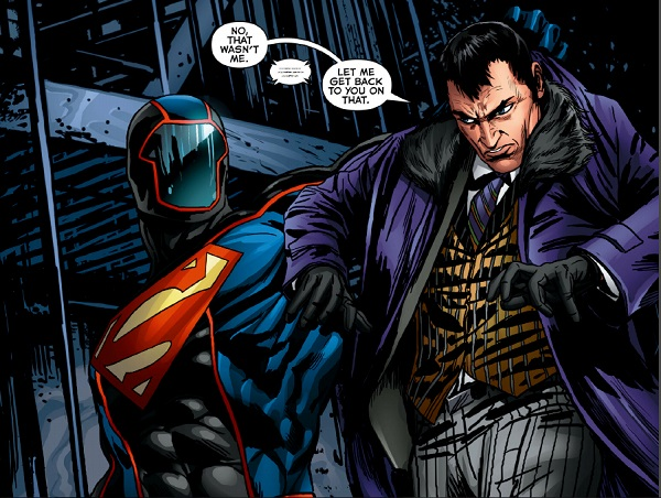 King Faraday has a run-in with the Masked Superman
