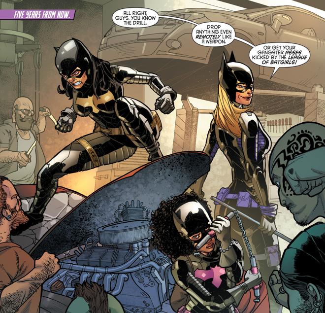 Cassandra Cain, Stephanie Brown, and Tiffany Fox are the League of Batgirls