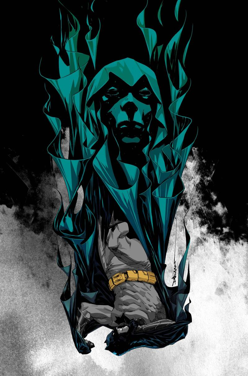 Cover to Batman: Eternal #17, scripted by Ray Fawkes