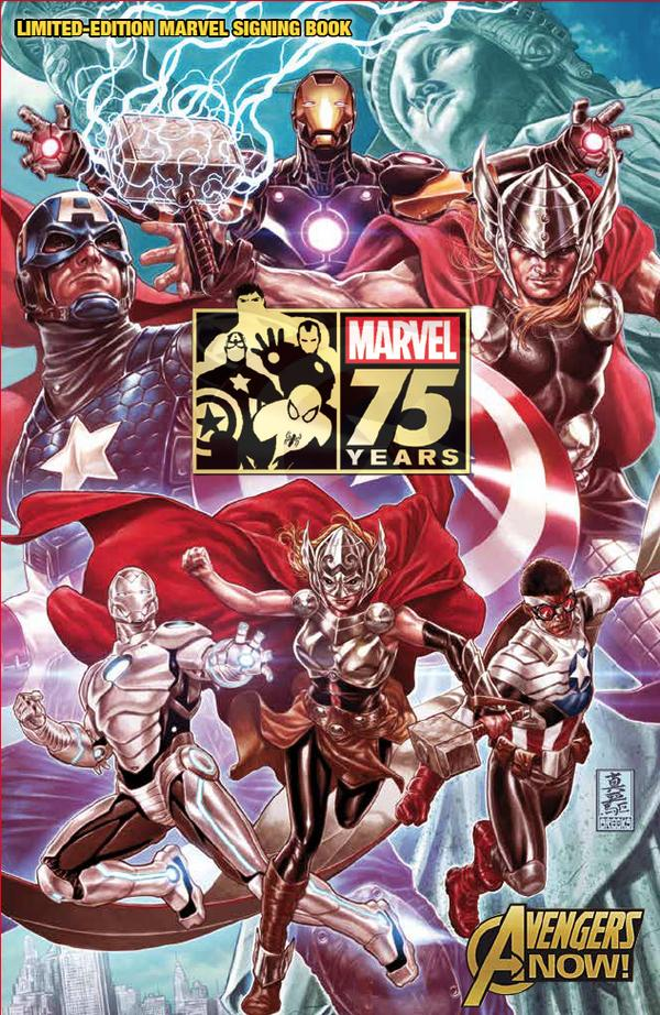 NYCC Marvel_75th_Anniversary_Limited_Edition_Signing_Book_Cover