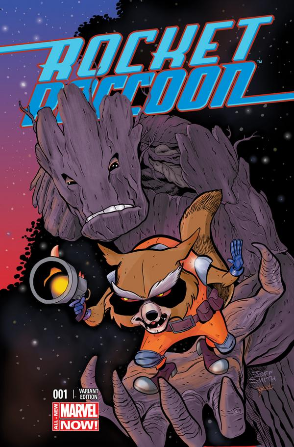 Rocket Raccoon #1 Jeff Smith Variant