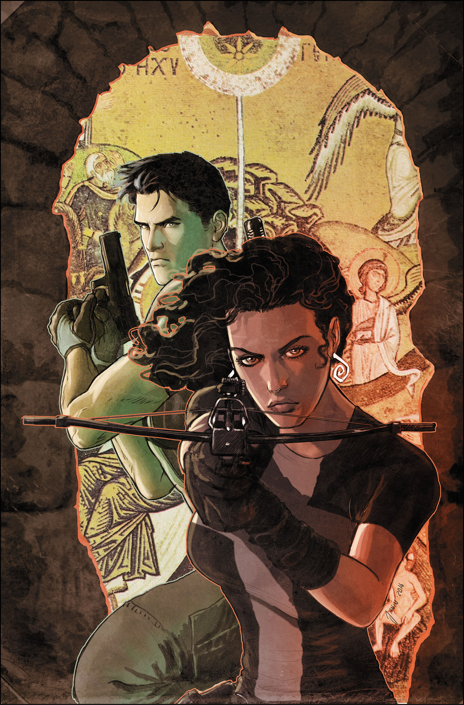 Cover art by Mikel Janin