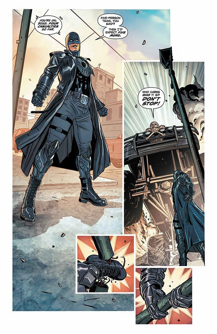 Interior page for Midnighter Sneak Peek by ACO.