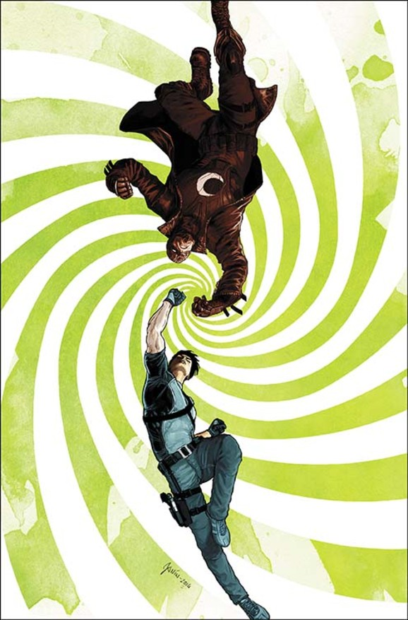 Grayson cover art by Mikel Janin.