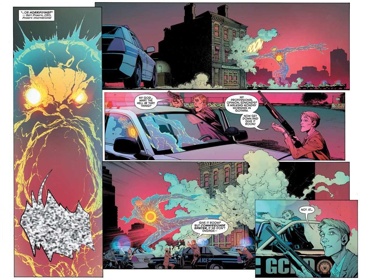 Batman #41 interior art by Greg Capullo, Danny Miki, and FCO Plascencia.
