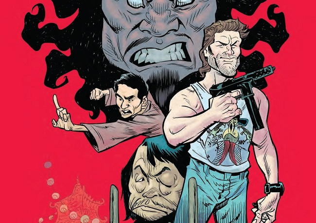 Big Trouble In Little China by Brian Churilla