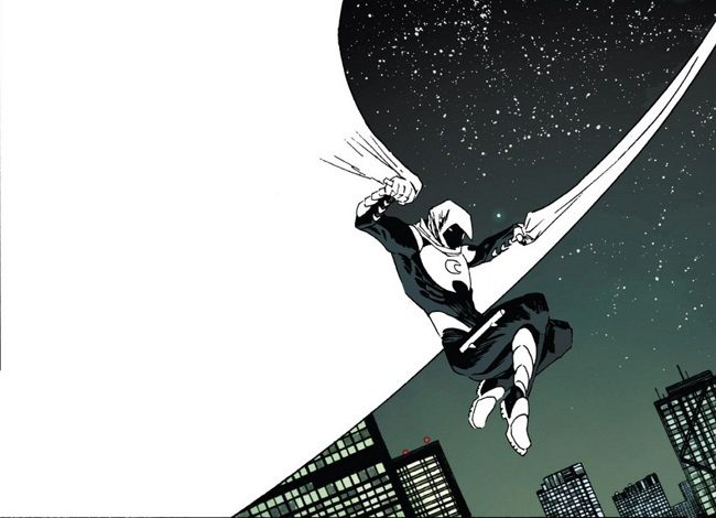Moon Knight - pencils by Declan Shalvey, colours by Jordie Bellaire