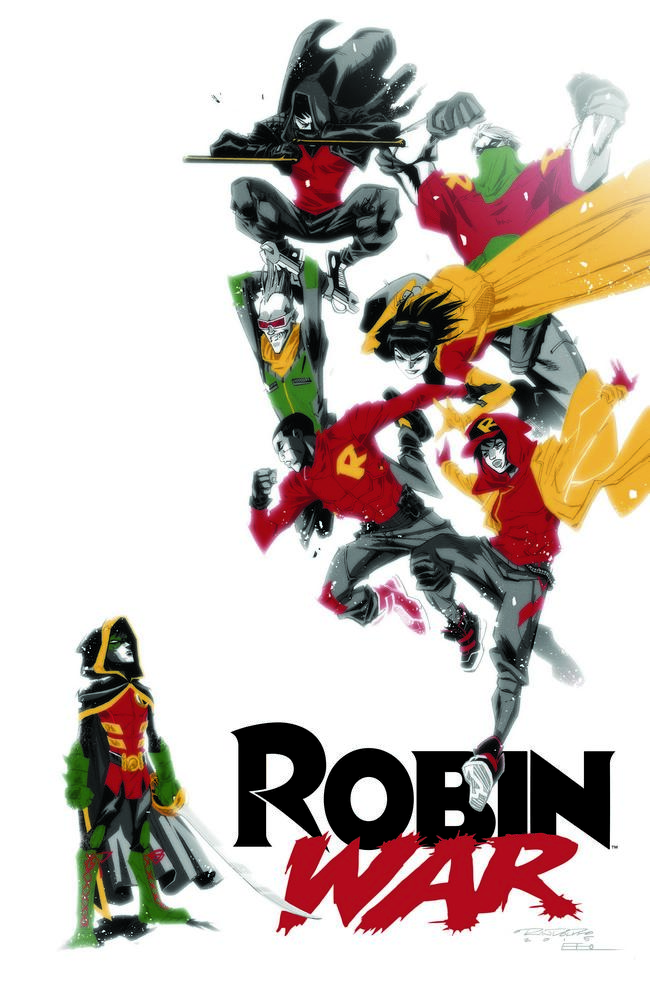 Robin War Promo Art