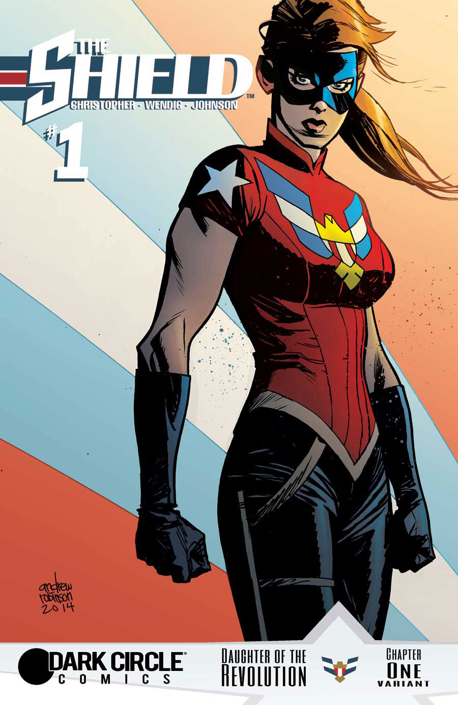 Issue #1 cover by Andrew Robinson