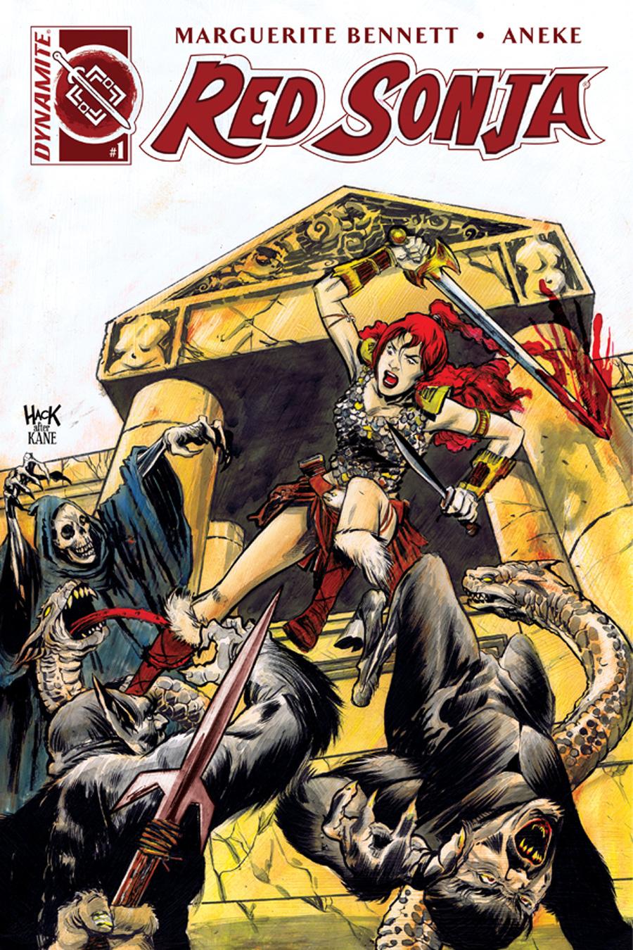 Red Sonja #1 Retailer Incentive Cover: Robert Hack