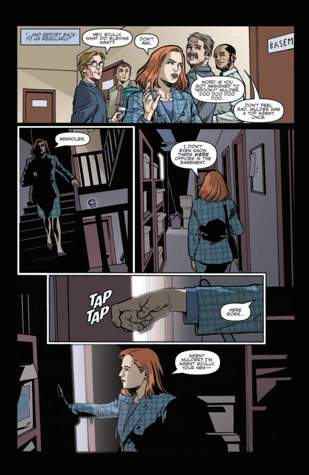 Preview: X-FILES DEVIATIONS ONE SHOT