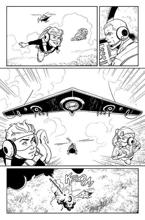 FUTURE QUEST #1, Page 13