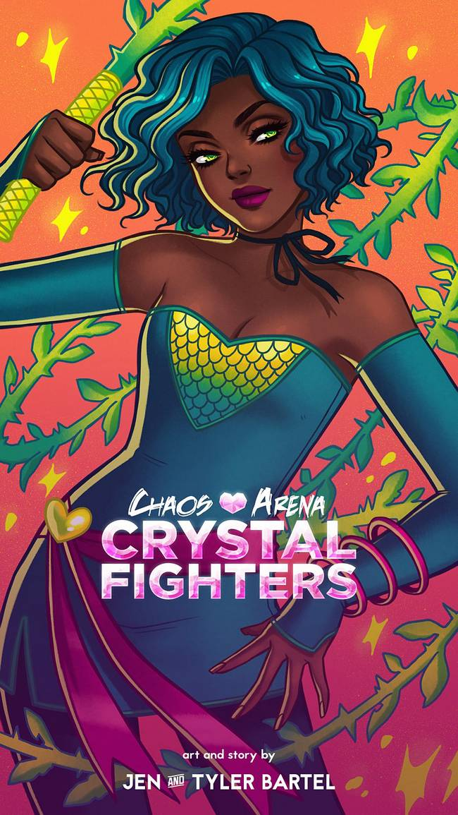 Chaos Arena Crystal Fighters by Jen Bartel
