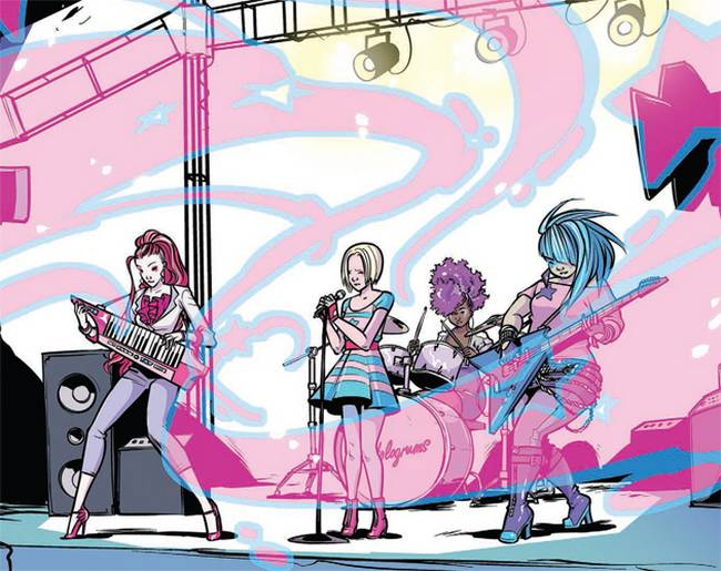 Jem And The Holograms by Sophie Campbell