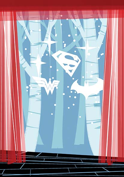 Cover for DC Holiday Special by Dustin Nguyen, featuring a story by Vita Ayala.