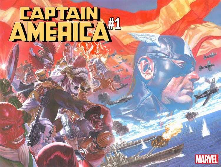 Marvel Announces CAPTAIN AMERICA #1 by Ta-Nehisi Coates & Leinil Yu