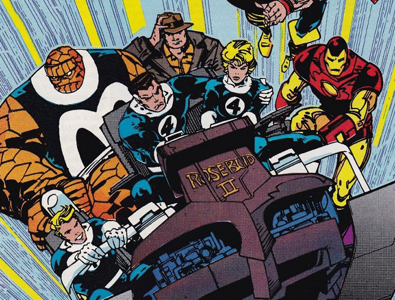 KIRBYOLOGY!: Walter Simonson and His Irrepressible, Cosmic, Fantastic Four